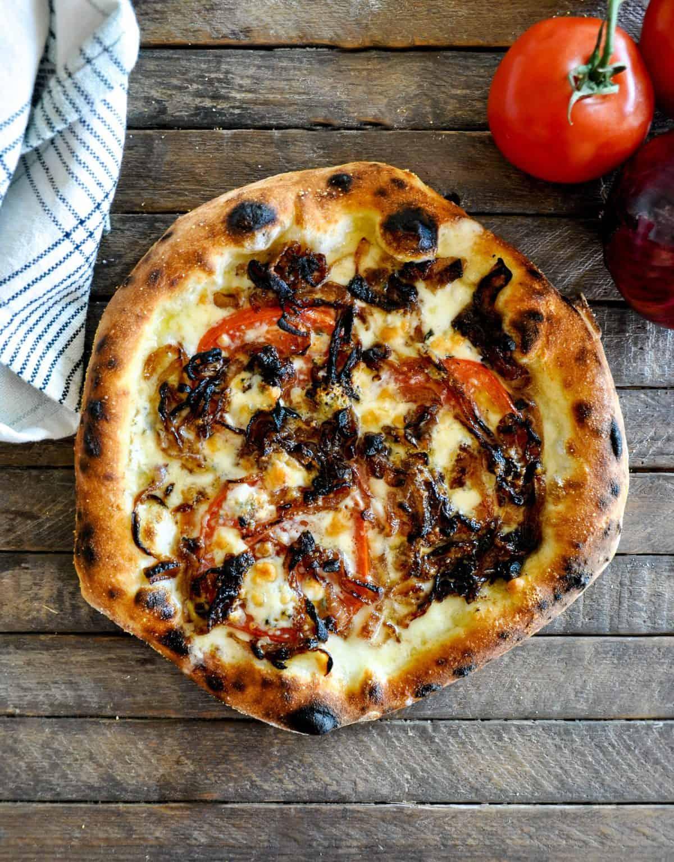 Tomato Onion Flatbread