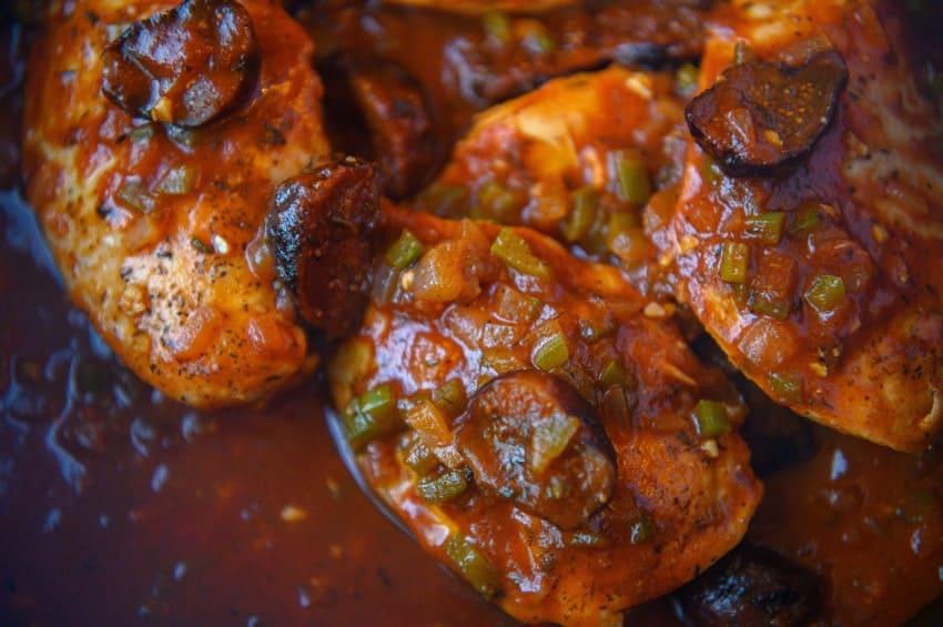 InstantPot Moroccan Chicken