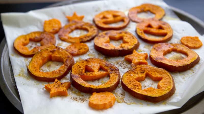 Halloween Sweet Potato Fries