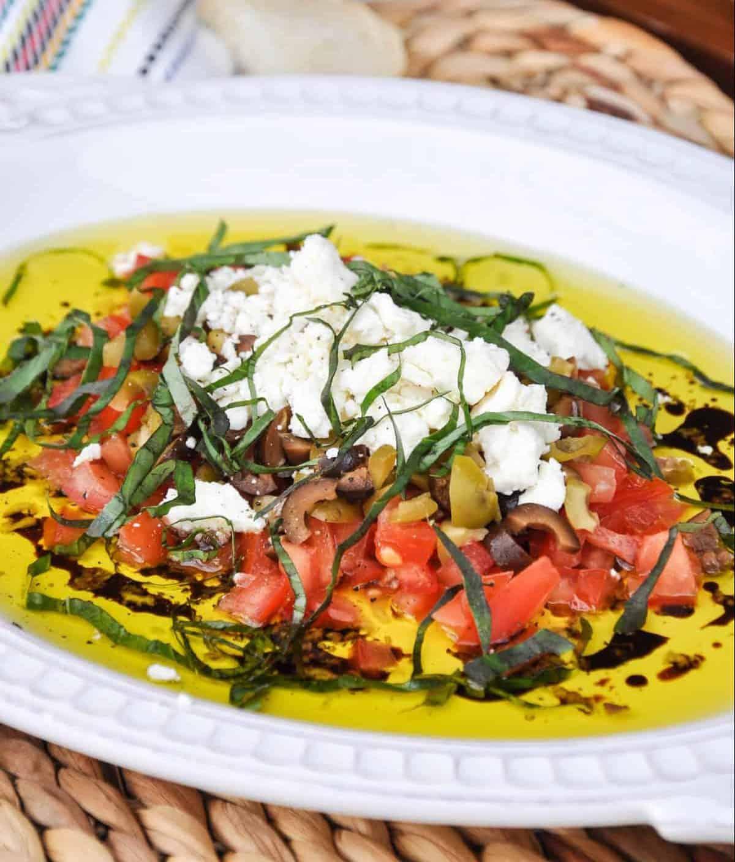 Chunky Olive Oil Dip recipe