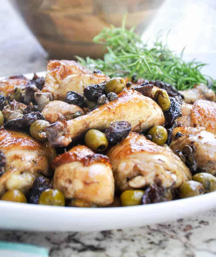 Chicken Calibella recipe using California Ripe Olives
