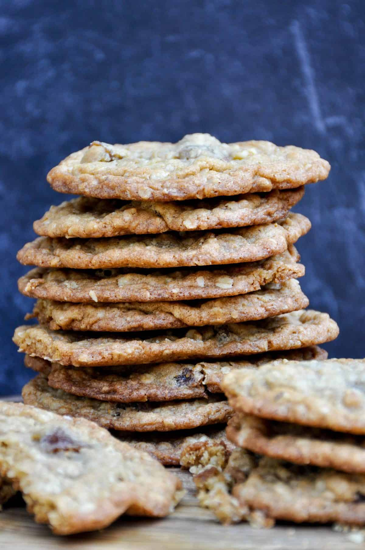 Spiced Golden Fig Cookies with Nuts