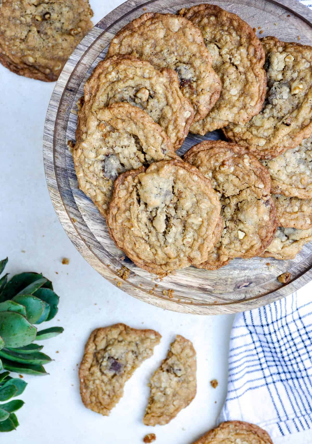 Spiced Fig Cookie with Nuts