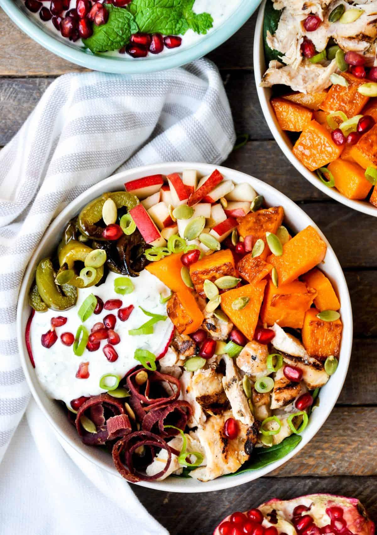 Delicious Fall Harvest Bowl Recipe