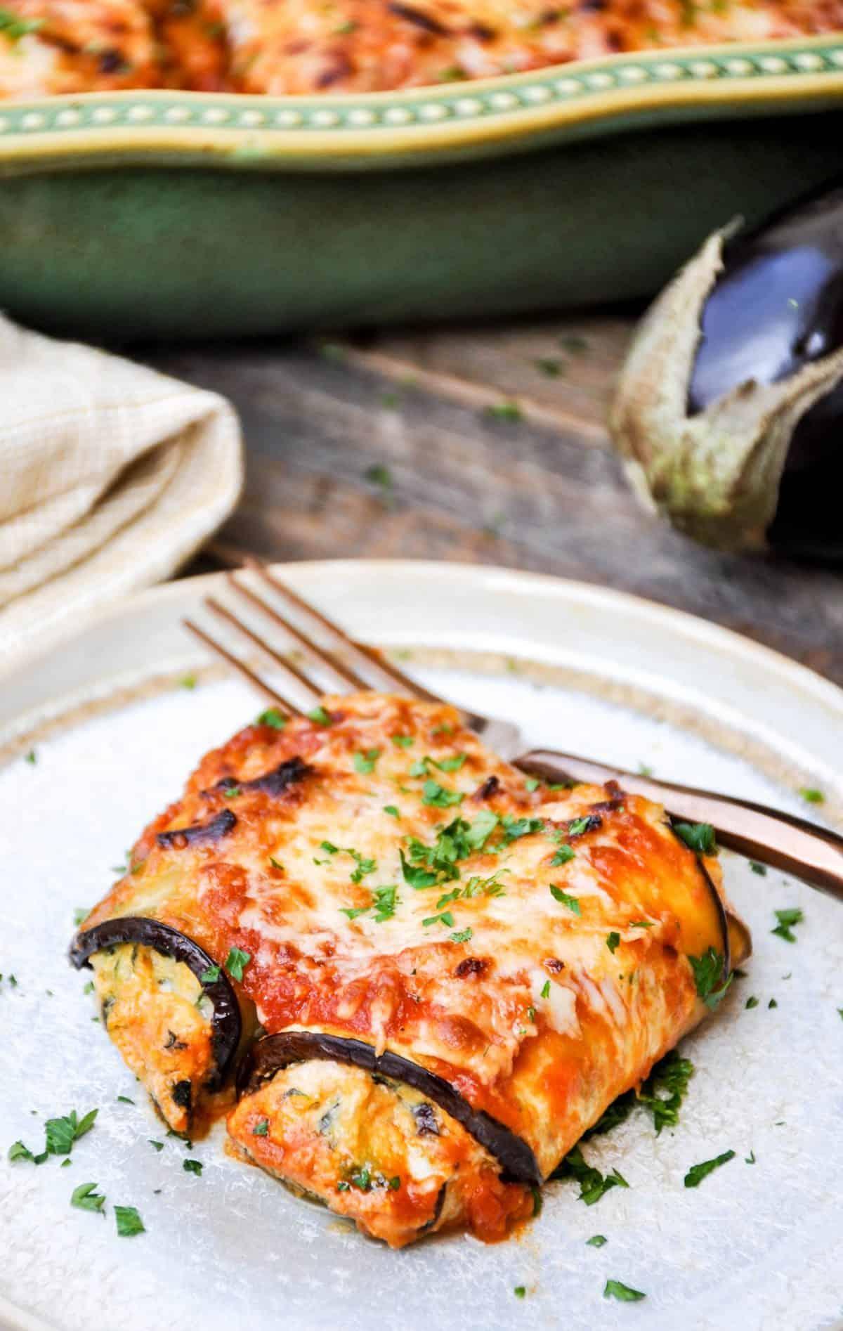 How to Make Eggplant Rollatini