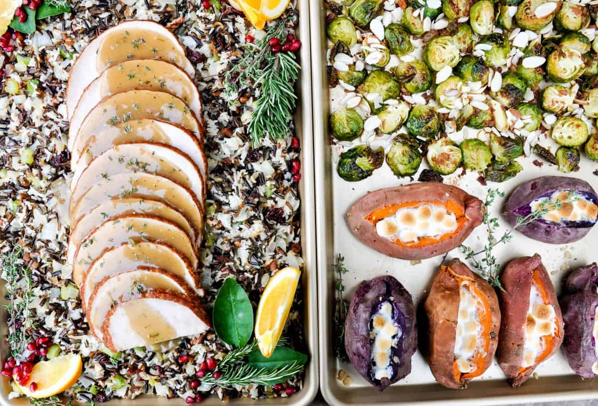 Sheet Pan Thanksgiving Dinner