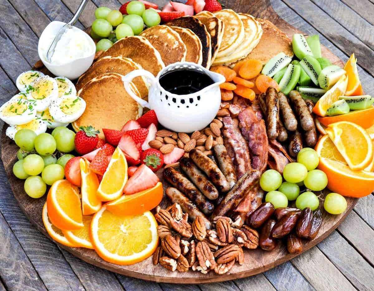 Amazing Holiday Breakfast Board