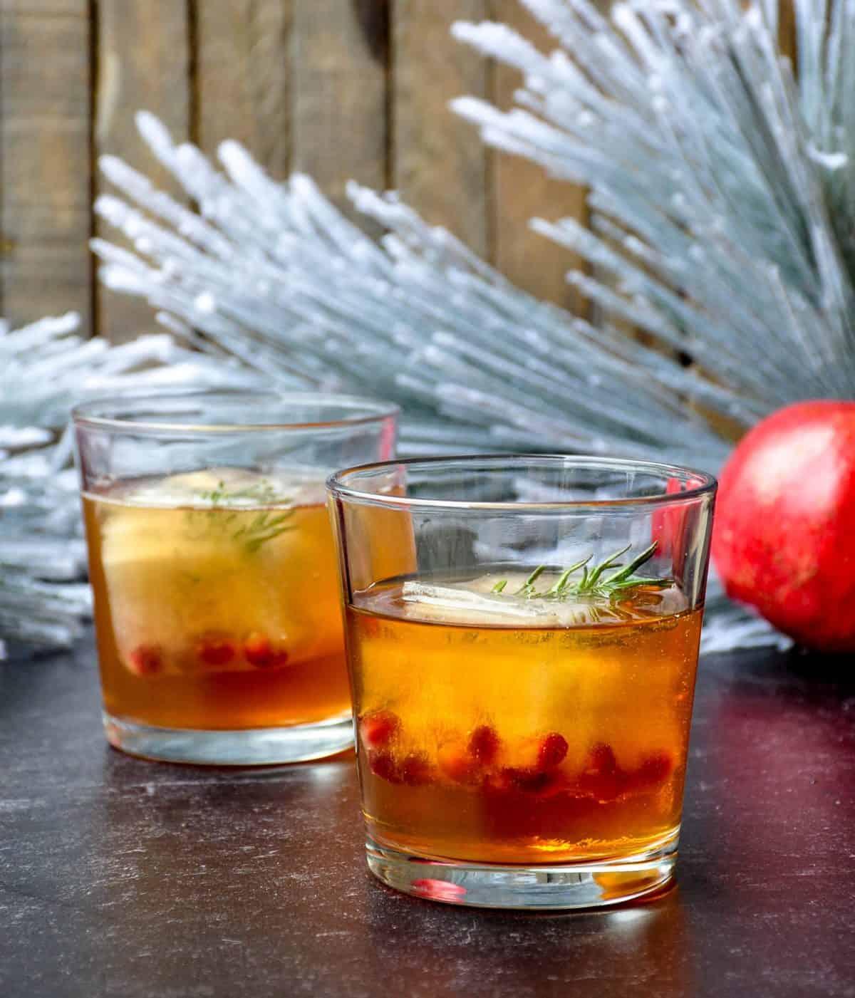 California Citrus Easy Sparkling Wine Cocktail