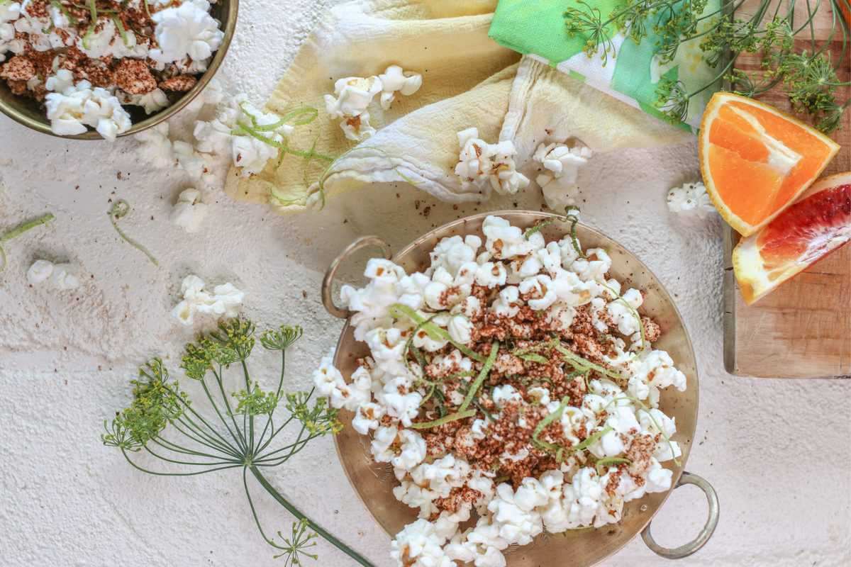Spicy Cotija Popcorn – Our Favorite Cheesy, Spicy Popcorn Seasoning Recipe