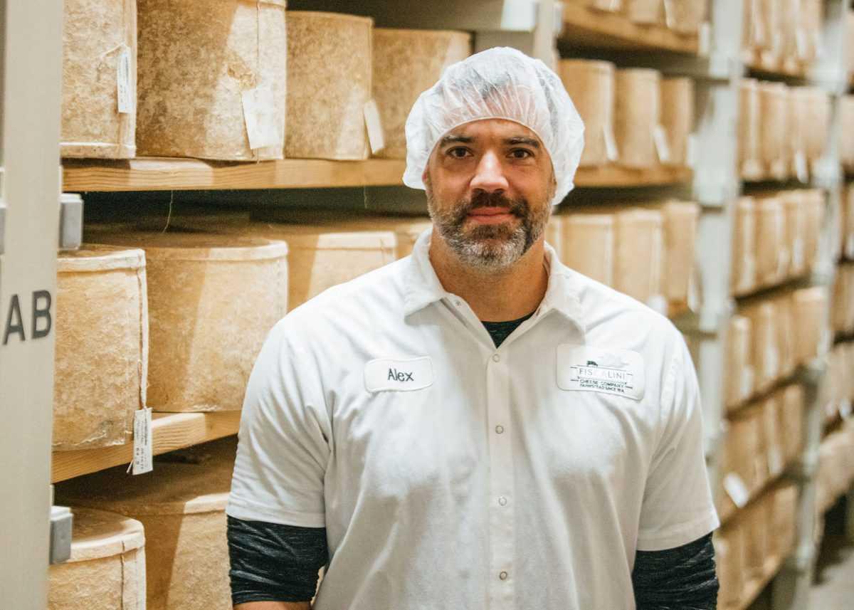 Alex, Cheesemaker at Fiscalini Farmstead