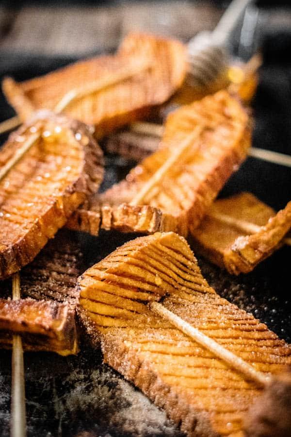 A New Way To Make A Hasselback Sweet Potato