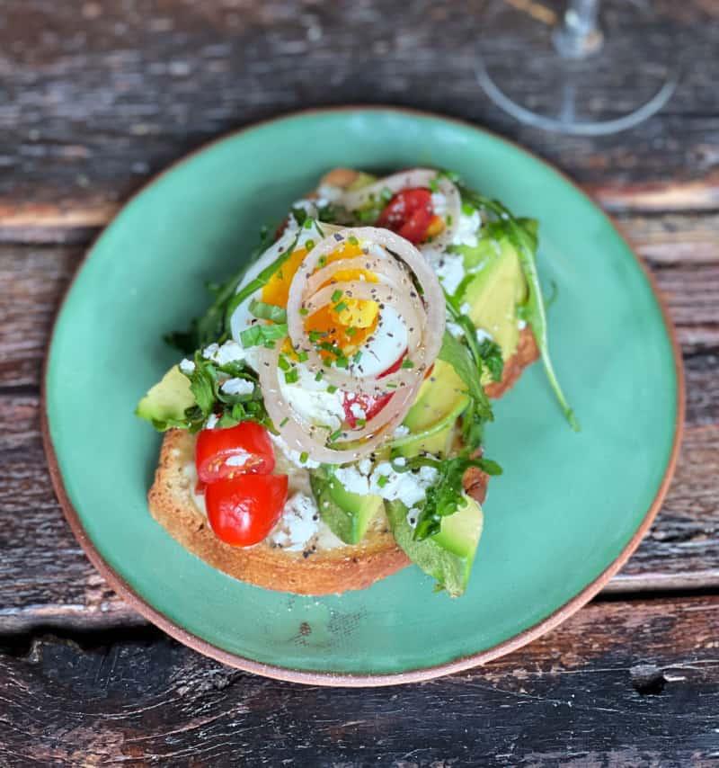 Spring Avocado Toast Recipe: Teri of nocrumbsleft