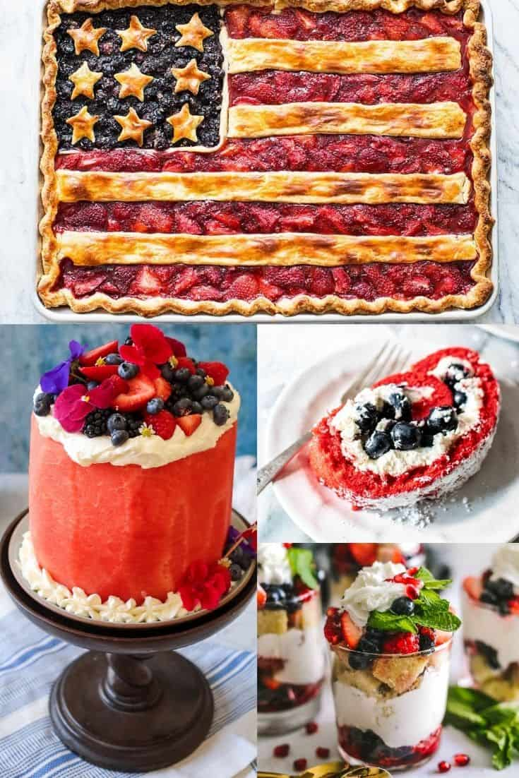 The Best Red, White and Blue Desserts on the Internet
