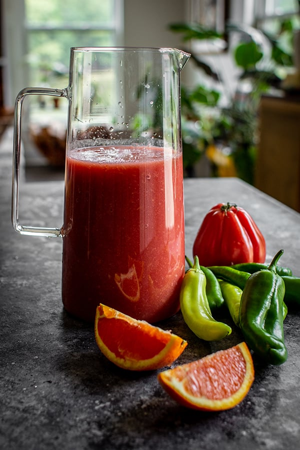 This Recipe for Bloody Mary Mix is Easy and Delicious!