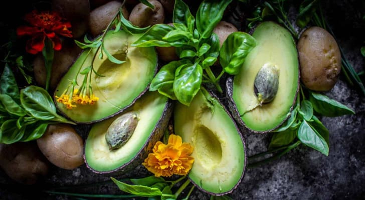 Sliced Avocado (horizontal) photo by This Mess is Ours