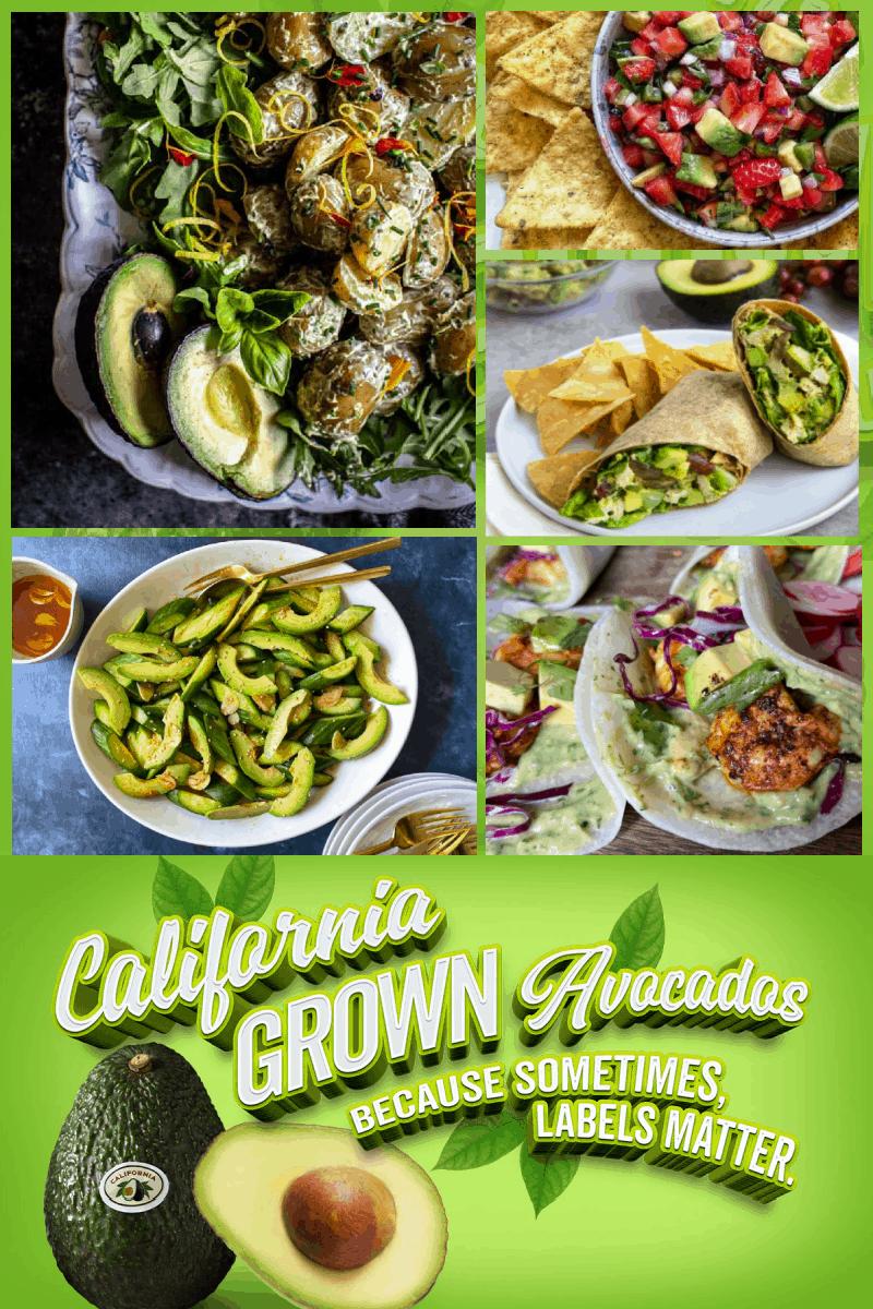 Find Your New Favorite Avocado Recipe! Featuring California Avocados