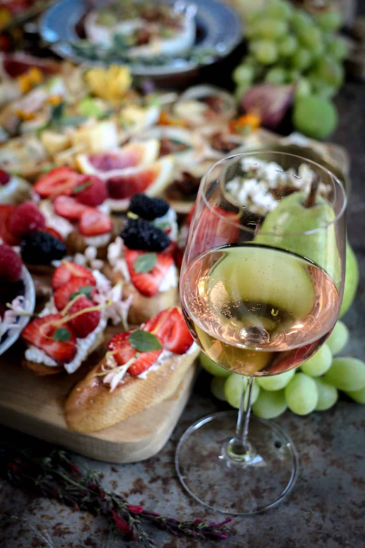These Simple + Delicious Wine Pairings are Perfect for California Wine Month
