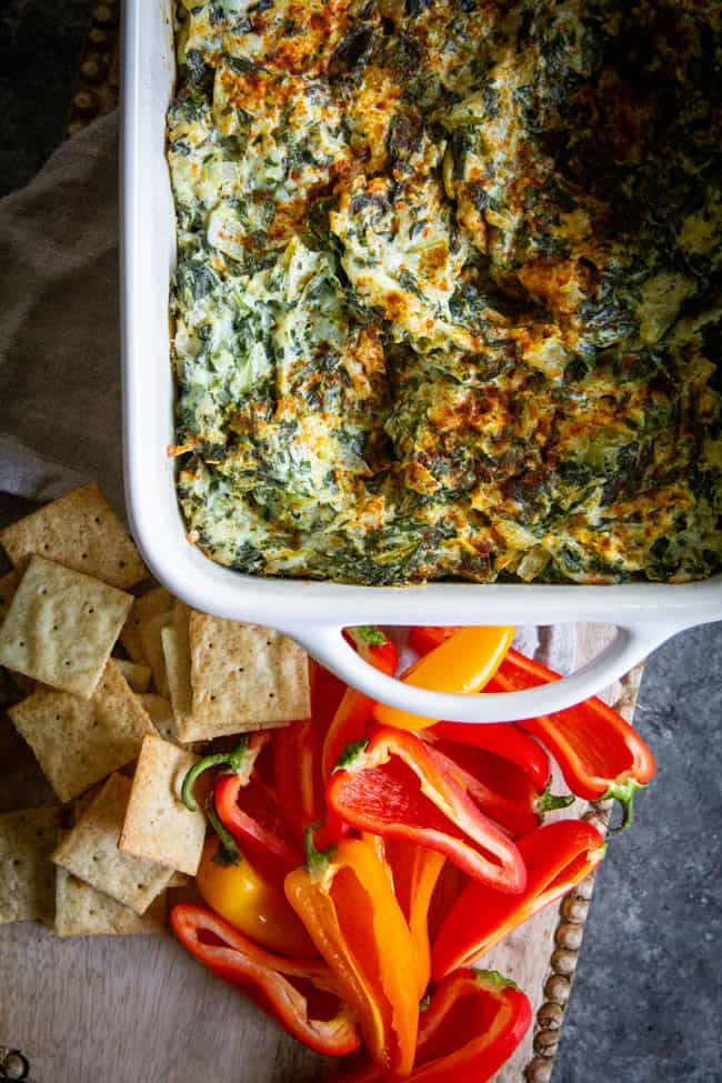 A Classic Artichoke and Spinach Dip Recipe Plus A Delicious New Way to Use It!