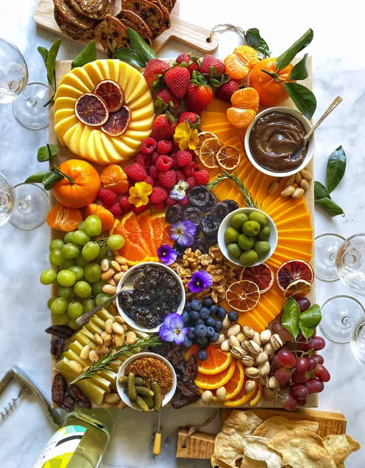 Pinot Prune Jam Board by the Delicious Life
