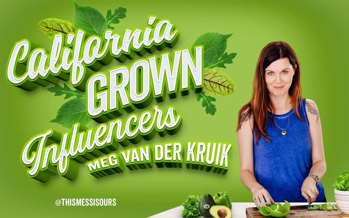 Meg van der Kruik of This Mess is Ours featured on a green Grown to be Great graphic image