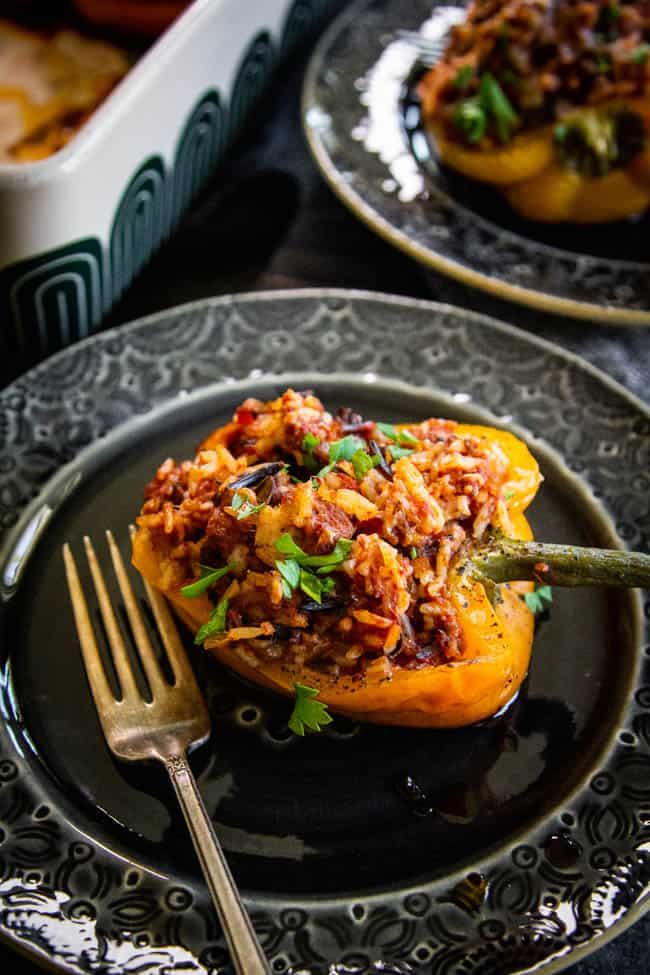 A Delicious Recipe For Easy Stuffed Bell Peppers